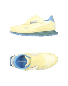 Adidas by raf simons Leather Low-Top Sneakers in Yellow for Men - Save 31% | Lyst