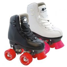 Pacer Madrid Junior Roller Skates-Keep the kids from crying with comfortable memory foam lining and easy to lace hook system -Use these skates indoors and outdoors -Choose from two different color options for these stylish and fun skates