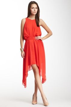 BCBGeneration Halter Neck Cocktail Dress by Dresses Up To 70% Off on @HauteLook