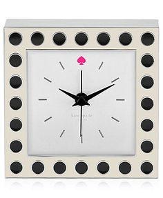kate spade new york Clocks: getting for my bedroom!!!!!