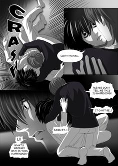 Death Note Doujinshi Page 51 by Shaami on DeviantArt