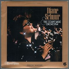 """#Diane #Schuur & the #Count #Basie Orchestra"""", a 1987 live album by #Diane #Schuur, peaked at #1 on Billboard's Top Jazz Albums. Three years after #CountBasie's death, the #CountBasieOrchestra is featured here as a ghost band, led by Frank Foster, who died a week later. At the Grammy Awards of 1988, for her performance on #DianeSchuur & the #CountBasieOrchestra, Schuur won her second consecutive Grammy Award for Best #Jazz Vocal Performance, Female. #Vinyl #LP"""
