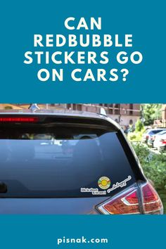 Redbubble stickers can go on cars! But there are a few things you should know before putting your favorite stickers on your vehicle. Red Bubble Stickers, To Go, Canning, Cars, Vehicles, Autos, Car, Car, Automobile