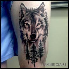 #wolftattoo #wolf #tattoo #blackandgrey #realistictattoo #realism #portrait #tahnee_claire #ironmindtattoo #brunswickheads #nsw