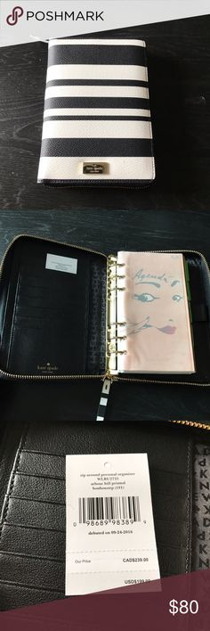 Kate Spade Wellesley Planner Brand new never used. 100% authentic. Comes with 2017 inserts kate spade Bags Wallets