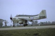 Original aircraft slide Gannet - slide has no defects! Air Force Aircraft, Navy Aircraft, Ww2 Aircraft, Military Aircraft, Air Festival, Royal Navy, Fighter Jets, Aviation, Cold War