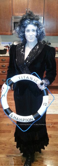 The Maiden Voyage Titanic Costume... Coolest Halloween Costume Contest