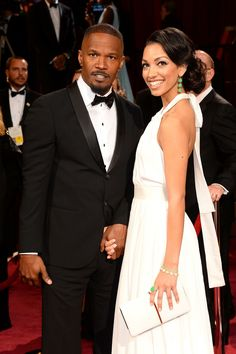 Jamie Foxx and his daughter Corinne