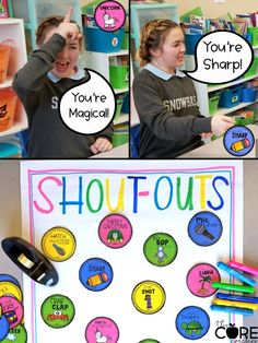 Change your classroom climate with these positive shout-outs. Students LOVE giving and receiving these positive shout-outs.