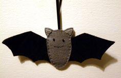 Bats in the Belfry... or just one bat hanging on by FudgeandPoppy, £3.00
