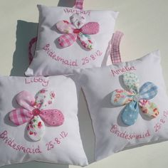 Personalised Flower Mini Cushion - Not on the High Street