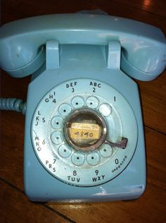 Remember When we had to turn the dial in a complete circle...and all of those cool colors that you could pick for your phone?
