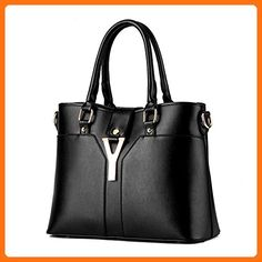 c789851ece Boutique Top Handle Tote Handbags For Business Office Lady Woman PU Leather  Medium Purse