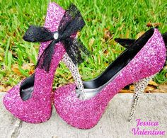 What every true princess really needs ;) would never be able to wear them anywhere but love them!!