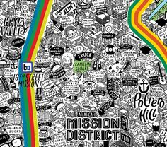 """Don't get us wrong—we love gorgeous illustrated maps around here. Like, a lot. But this hand-illustrated map of San Francisco by artist Jenni Sparkstakes the cartography thing to a whole other level. [media-credit name=""""Jenni Sparks"""" align=""""aligncenter..."""