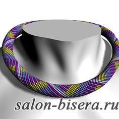 Как поменять цвет бисера в схеме жгута (программа JBEAD)   Салон Эксклюзивного Бисера beading patterns free