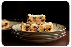 Chocolate Chip Crumb Bars by Sprinkled with Flour
