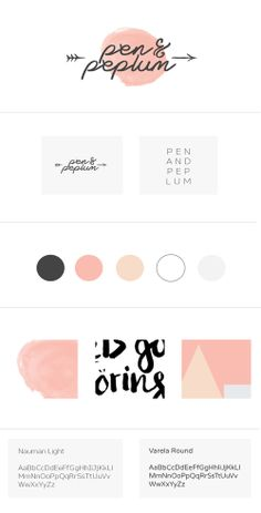 simple but evokes a nice playful feeling. I can imagine something like this for los colorines