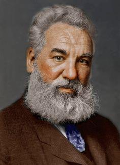""""""" No """" ~Alexander Graham Bell, inventor escocés-canadiense. Su esposa sorda le susurró, «No me dejes.» Él, usando lenguaje de signos, replicó «No.»"""