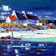 Tiree neighbours West Coast Scotland, Acrylic Painting Tips, Z Arts, Types Of Art, Art Techniques, House Painting, Landscape Art, Illustration Art, Illustrations
