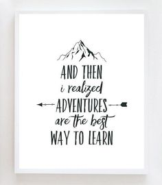 trendy travel quotes adventure sayings New Quotes, Quotes To Live By, Love Quotes, Inspirational Quotes, The Words, Calligraphy Quotes, Typography Quotes, Adventure Quotes, Adventure Fonts