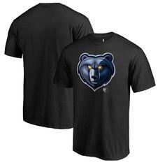 Memphis Grizzlies Fanatics Branded Midnight Mascot Big and Tall T-Shirt - Black