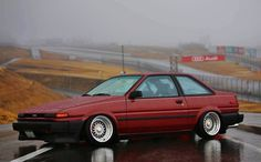 One of my favorites car Toyota Corolla, Corolla Ae86, Japan Cars, Toyota Cars, Jdm Cars, Modern Classic, Custom Cars, Subaru, Cars And Motorcycles