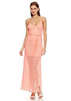 On ideeli: WOW COUTURE Solid Spaghetti Strap Maxi Dress