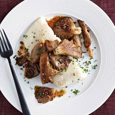 #FastIdea of the Day: Cod with Mushrooms