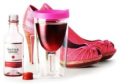 Let's face it, Vino2Go | Party Pink is one of the colors you wanted, but could not get. http://store.theproductfarm.com/vino2go/ #winesippycup