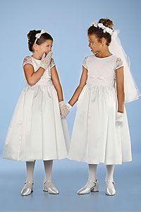 Flower Girl Dresses- US Angel Flower Girl Dress Style 247- SALE! White sizes 7, 8,10 or 12