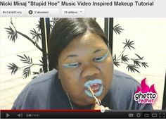 Nicki Minaj makeup tutorial