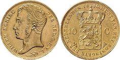 NumisBids: Schulman b.v. Auction 346, Lot 617 : KONINKRIJK DER NEDERLANDEN - WILLEM I 1815–1840 10 Gulden of gouden...