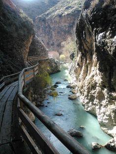 Pasarela del río Castril, Granada