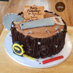 Birthday Cake For Father, Art Birthday Cake, Fathers Day Cake, Birthday Cakes For Men, Cakes For Boys, Happy Birthday, Men Birthday, Birthday Greetings, Birthday Wishes