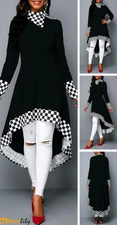 trendy Outerwear Coats with competitive price African Fashion Dresses, Hijab Fashion, Fashion Outfits, Womens Fashion, Mode Outfits, Chic Outfits, Dress Outfits, Trendy Dresses, Casual Dresses