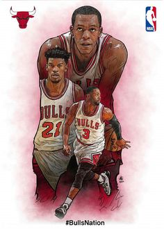 (Central) Chicago Bulls II - My Wallpaper I Love Basketball, Basketball Posters, Basketball Pictures, Basketball Legends, Basketball Floor, Basketball Shoes, Nba Bulls, Nba Chicago Bulls, Chicago Ii