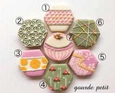 *内祝い* 和柄 アイシングクッキー セット