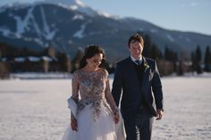 Snow wedding - Whistler winter