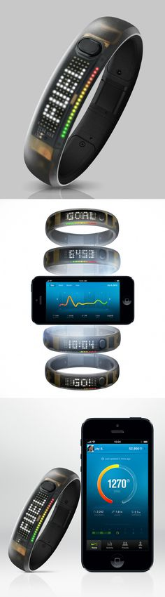 Black Ice Nike+ FuelBand #product_design #industrial_design