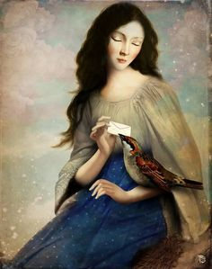 """The Messenger"""" Digital Art by Christian Schloe posters, art prints, canvas prints, greeting cards or gallery prints. Description from pinterest.com. I searched for this on bing.com/images"""