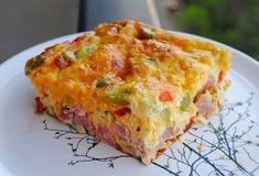 Nevíte co byste si dali k snídani? Připravte si jednoduchou a rychlou chuťovku. Omeleta zapékaná v troubě.