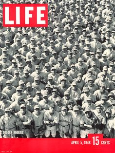 George Silk—Life Magazine  LIFE magazine cover, April 5, 1948