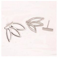 Aioverun Jewelry Women's Personality and contracted fashion street snap hollow-out the lotus women earrings make a wedding ** This is an Amazon Affiliate link. Read more at the image link.