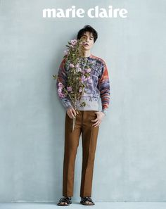 Our lovely Lee Dong Wook is in the pages of the August version of Marie Claire, check it out! Source  |  Naver