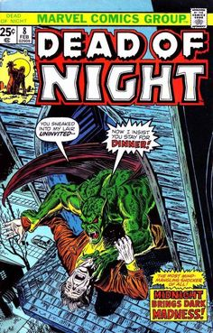 Cover for Dead of Night (Marvel, 1973 series) #8