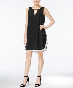 Bar III Keyhole Shift Dress, Only at Macy's | macys.com