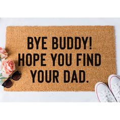 Hope you told us you were coming over Doormat. Size: 18 x Approximately thick. Material: coir with rubber backing. Weight: Approximately Weight: Our doormats weigh approximately Design: Handpainted; Outdoor Paint ORIGINAL DESIGN by Fox and Clover Christmas Doormat, Christmas Humor, Christmas Signs, Funny Christmas, Christmas Time, Merry Christmas, Front Door Mats, Front Porch, Front Doors