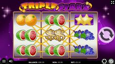 """As you can see, this is a BigWin in TripleStars with a €2 bet and we want you to have some fun with 25 no-wager FREESPINS for TripleStars!  Log into kajot-casino.com, open the chat (bottom right) and send this code: """"TripleStars0303"""" to claim your reward!  Promotion valid until 10.03.2020!"""