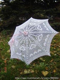 Crochet umbrella ♥LCU♥ with diagram